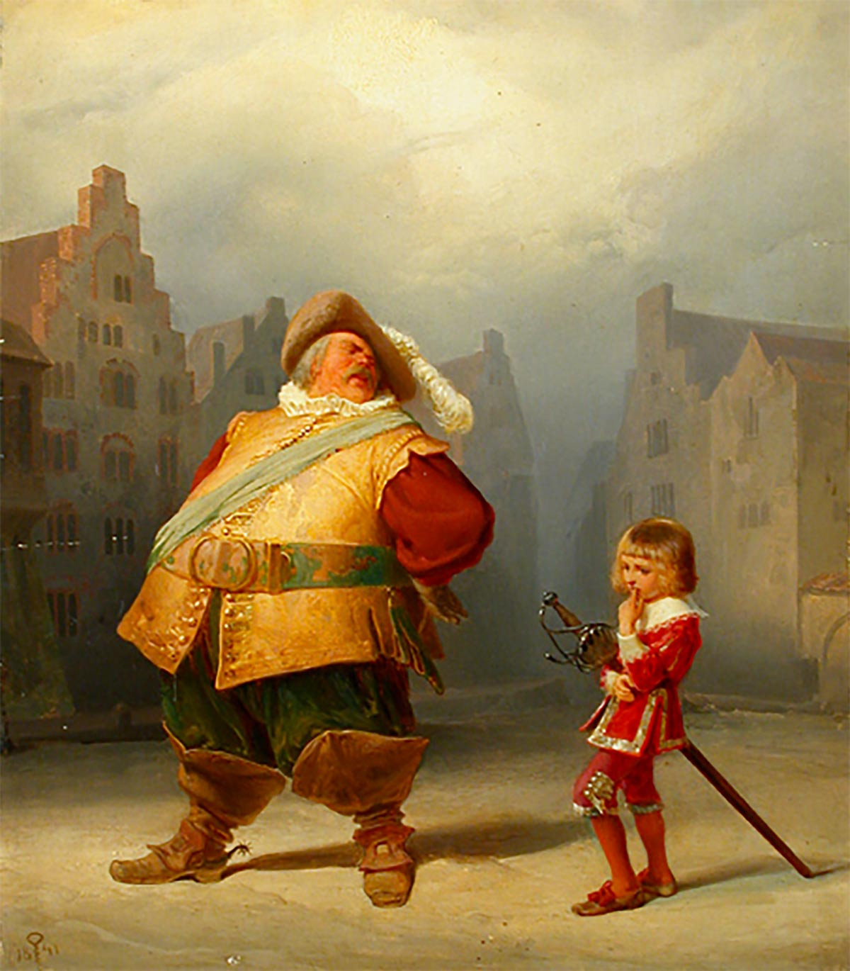 falstaff and king lear King lear is among the most complex and contradictory of shakespeare's works while the play has no single character with the intellectual or sensual appeal of a hamlet, falstaff, cleopatra.