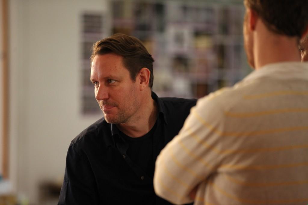 Peter Evans Working
