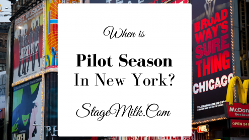When does pilot season start in New York