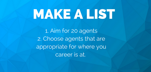 How to choose an agent to approach