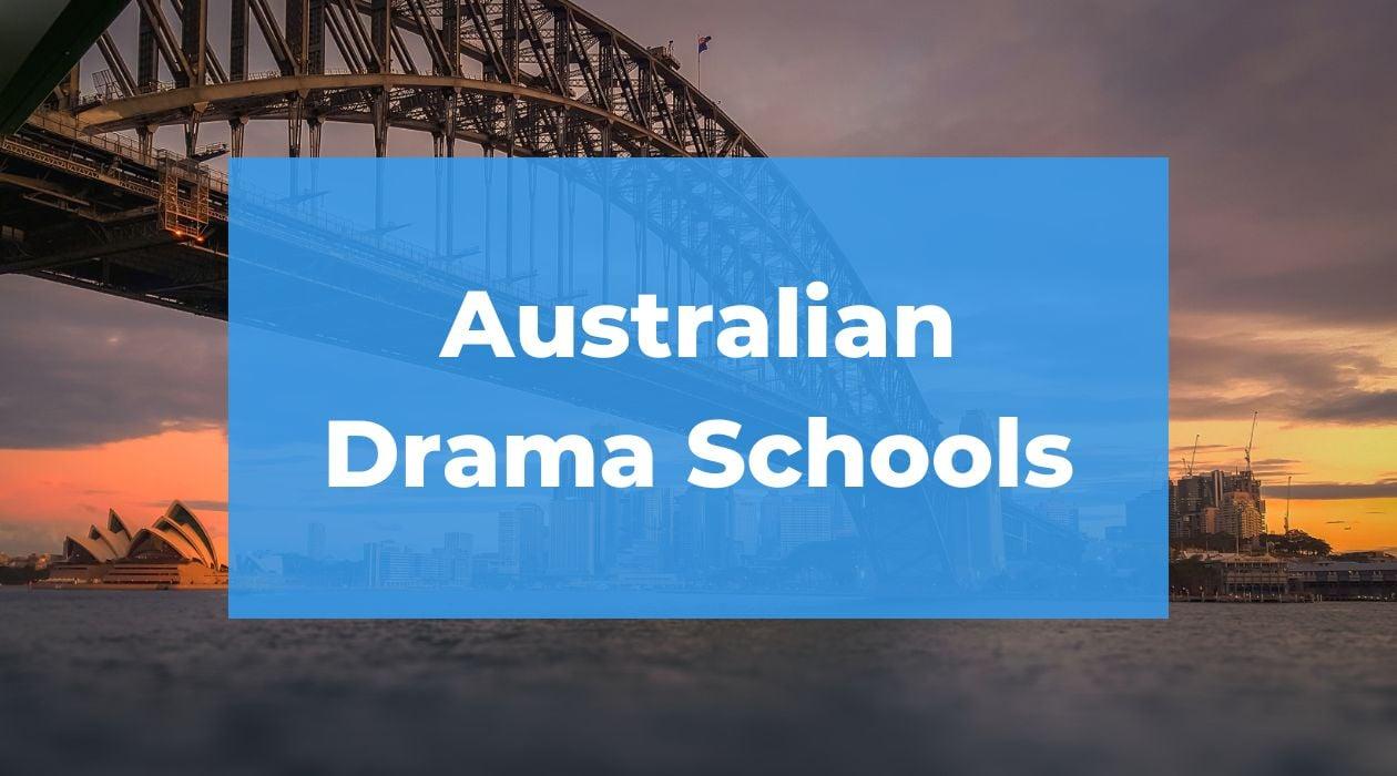 AUSTRALIAN ACTING SCHOOLS (1)