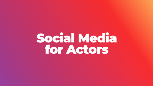 Social Media for Actors