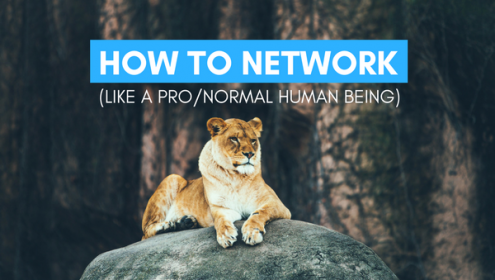 how to network as an actor