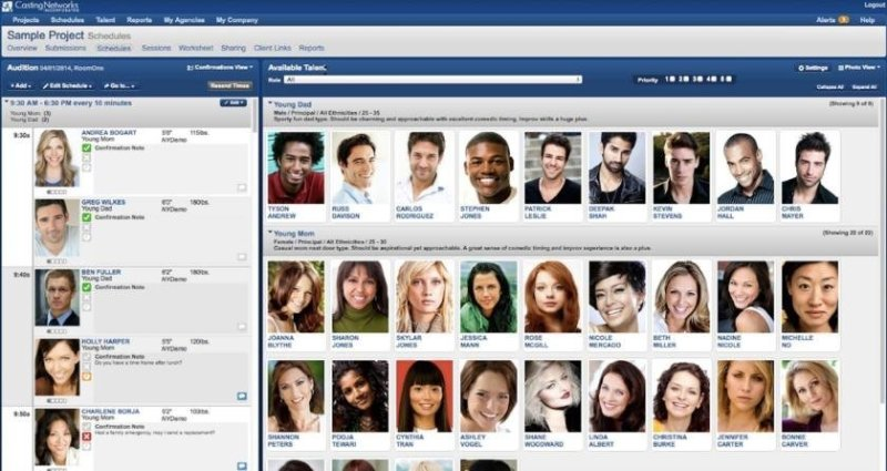 casting profile