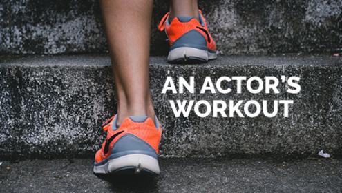 actors workout