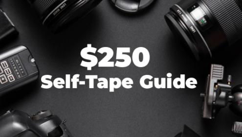 $250 self tape set up