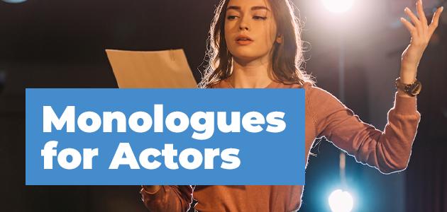 Monologue for actors