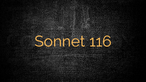SONNET 116 Shakespeare
