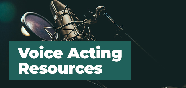 Voice Acting Resources