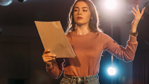 stop doing this before an audition